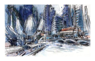 singapore-skyline-from-art-science-museum