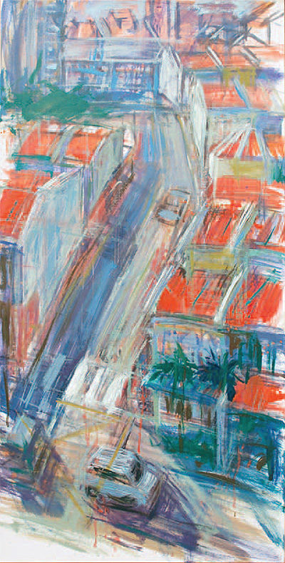 chinatown-series-no-13-2010-oil-on-canvas-65-x-111-cm